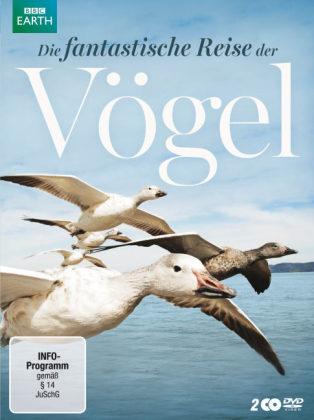 Die fantastische Reise der Vögel, 2 DVDs