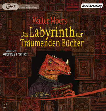 Das Labyrinth der Träumenden Bücher, 2 MP3-CDs