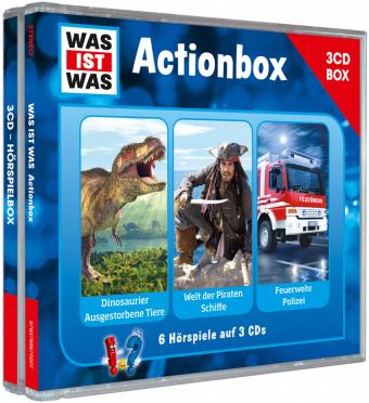 Actionbox, 3 Audio-CDs