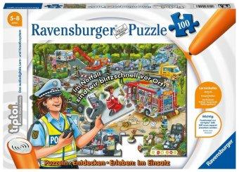 Puzzlen, Entdecken, Erleben, Im Einsatz (Kinderpuzzle)