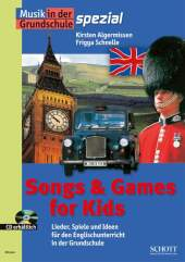 Songs & Games for Kids, m. Audio-CD
