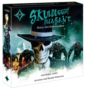 Skulduggery Pleasant - Duell der Dimensionen, 8 Audio-CDs