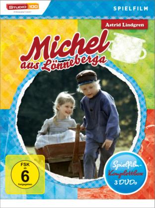 Michel aus Lönneberga, 3 DVDs (Spielfilm Edition)