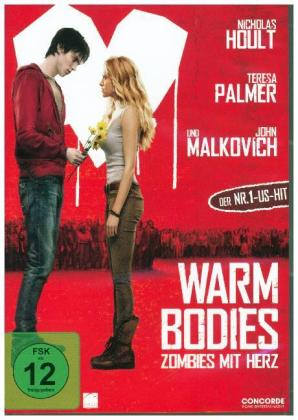 Warm Bodies, 1 DVD
