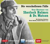 Neue Abenteuer von Sherlock Holmes & Dr. Watson, Die verschollenen Fälle, 5 Audio-CDs Cover