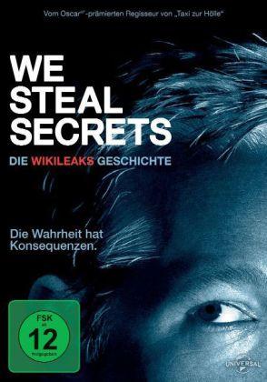 We Steal Secrets: Die WikiLeaks Geschichte, 1 DVD bzw. 1 Blu-ray. Von Alex Gibney