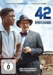 42 - Die wahre Geschichte einer Sportlegende, 1 DVD Cover