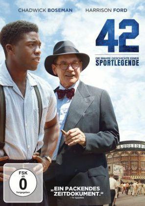 42 - Die wahre Geschichte einer Sportlegende, 1 DVD