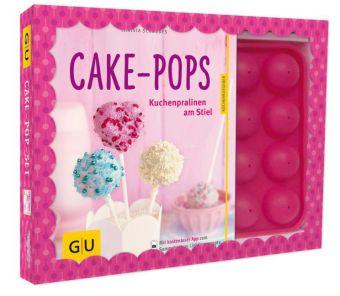 Cake-Pop-Set, m. Backform u. 20 CakePop-Stielen