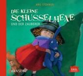 Die kleine Schusselhexe und der Zauberer, 1 Audio-CD Cover