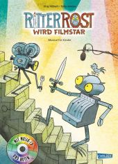 Ritter Rost wird Filmstar, m. Audio-CD