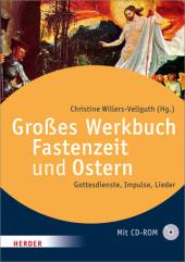 Großes Werkbuch Fastenzeit und Ostern, m. CD-ROM Cover