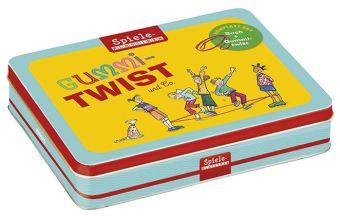 Gummitwist-Set, Buch u. Gummitwist (Kinderspiel)