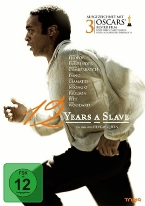 12 years a slave, 1 DVD