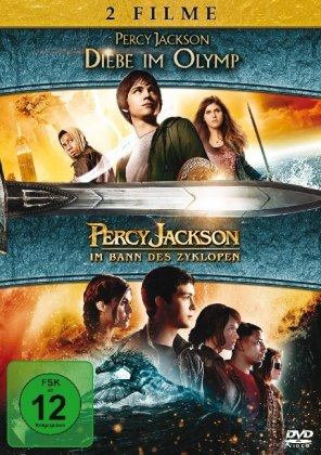 Percy Jackson 1 + 2, 2 DVDs