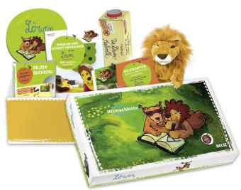 Die Geschichte vom Löwen, der nicht schreiben konnte, Mitmachkiste