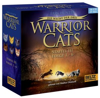 Warrior Cats, Die Macht der drei, 30 Audio-CDs