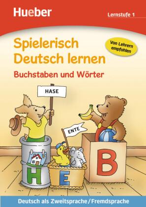 Buchstaben und Wörter, Lernstufe 1