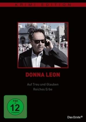 Donna Leon: Auf Treu und Glauben / Reiches Erbe, 1 DVD