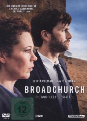 Broadchurch, 3 DVDs