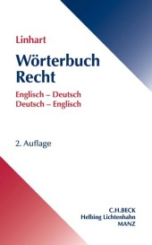 Wörterbuch Recht / Dictionary of Law