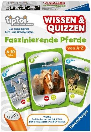 tiptoi® Wissen & Quizzen, Faszinierende Pferde (Spiel-Zubehör)