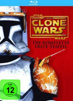 The Star Wars: The Clone Wars, 4 DVDs