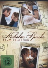 Nicholas Sparks Collection, 3 DVDs Cover