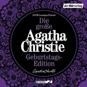 Die große Agatha Christie Geburtstags-Edition, 10 Audio-CDs