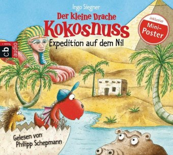 Der kleine Drache Kokosnuss - Expedition auf dem Nil, 1 Audio-CD