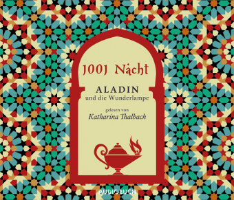 Aladin und die Wunderlampe, 4 Audio-CDs