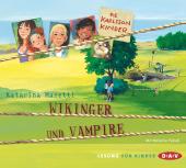 Die Karlsson-Kinder - Wikinger und Vampire, 2 Audio-CDs
