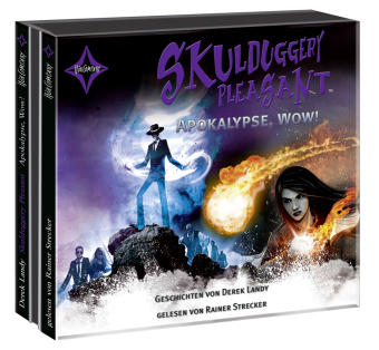 Skulduggery Pleasant - Apokalypse, Wow!, 3 Audio-CDs