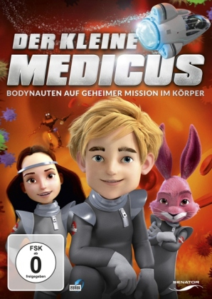 Der kleine Medicus - Bodynauten auf geheimer Mission im Körper, 1 DVD