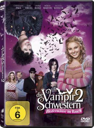 Die Vampirschwestern 2 - Fledermäuse im Bauch, 1 DVD + Digital UV