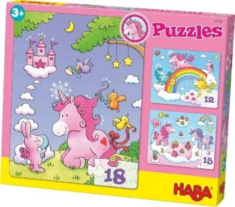 Einhorn Glitzerglück (Kinderpuzzle)