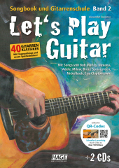 Let's Play Guitar, m. 2 Audio-CDs   DVD