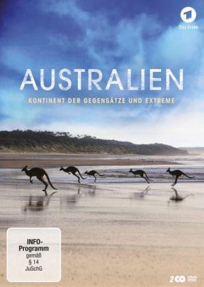 Australien - Kontinent der Gegensätze und Extreme, 2 DVDs