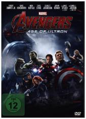 Avengers: Age of Ultron, 1 DVD Cover