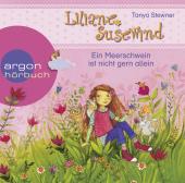 Liliane Susewind - Ein Meerschwein ist nicht gern allein, 1 Audio-CD Cover