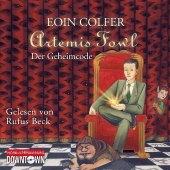 Artemis Fowl - Der Geheimcode, 5 Audio-CDs Cover