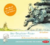 Der Gewitter-Ritter und weitere Geschichten, 1 Audio-CD Cover