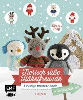 Tierisch süße Häkelfreunde im Winterwunderland Cover