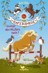 Die Haferhorde - Immer den Nüstern nach! Cover