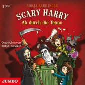 Scary Harry - Ab durch die Tonne, 3 Audio-CDs