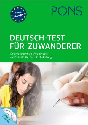 PONS Deutsch-Test für Zuwanderer, m. 2 Audio+MP3-CDs
