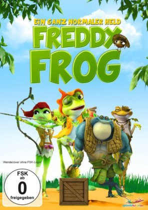 Freddy Frog - Ein ganz normaler Held, 1 DVD