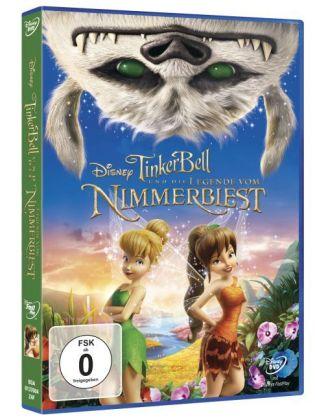 TinkerBell und die Legende vom Nimmerbiest, 1 DVD