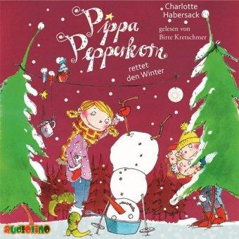 Pippa Pepperkorn - Pippa Pepperkorn rettet den Winter, 1 Audio-CD