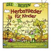 Die 30 besten Herbstlieder für Kinder, 1 Audio-CD